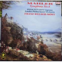 Mahler: Symphony no. 4. Franz Welser-Most. 1 LP. EMI. New Copy