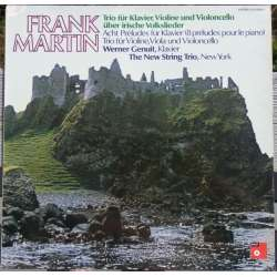 Frank Martin: Klavertrio. The New String trio. 1 LP. BASF