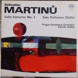 Martinu: Cellokoncert nr. 2. Sasa Vectomov, Prague SO. Zdenek Kosler. 1 LP. Supraphon