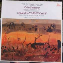 Mattheus: Cellokoncert. Alexander Baillie, John Carewe. 1 LP. Unicorn