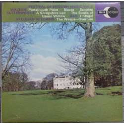 Vaughan Williams: The Wasp. & Walton: Portsmouth Point. Adrian Boult, LPO. 1 LP. Decca