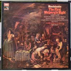 Mendelssohn: The First Walspurgis Night. Kurt Masur. 1 LP. EMI. ASD 3009