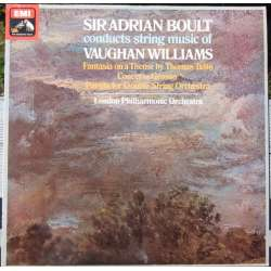Vaughan Williams: Thomas Tallis, Concerto Grosso. Andrian Boult, LPO. 1 LP. ASD 3286
