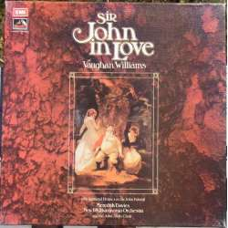 Vaughan-Williams: Sir John in Love. Meredith Davies, NPO. 3 LP. EMI. SLS 980