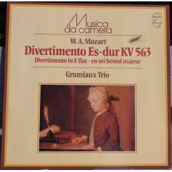 Mozart: Divertimento i E flat major. K 563. Arthur Grumiaux trio. 1 LP. Philips. New Copy