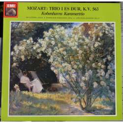 Mozart: Trio in E flat-major. KV 563. Copenhagen Chamber trio. 1 LP-vinyl. EMI. New Copy