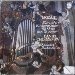 Mozart: Church Sonatas for Organ and Strings. Chorzempa, Winschermann. 2 LP. Philips