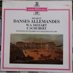 Mozart & Schubert: German dances. Jean Francois Paillard. 1 LP. Erato