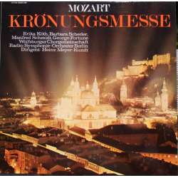 Mozart: Coronation Mass. RSO Berlin. Meyer-Kundt. 1 LP. EMI