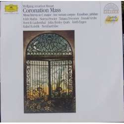 Mozart: Coronation Mass, Missa brevis, Ave Verum Corpus, Exsultate Jubilate. Mathis, Troyanos, Kubelik. 1 LP. DG. New Copy