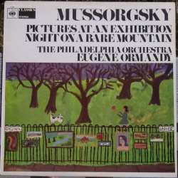 Mussorgsky: Pictures at an Exhibition & Night on the bare Mountain. Ormandy, Philadelphia Orchestra. 1 LP. CBS 61050