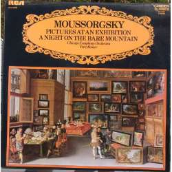 Mussorgsky: Pictures at an exhibition & Night on the Bare Mountain. Fritz Reiner, CSO. 1 LP. RCA