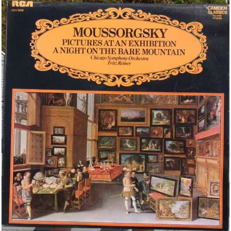 Mussorgsky Pictures At An Exhibition Vinyl Lp Plade