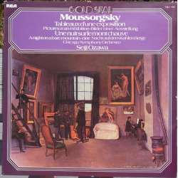 Mussorgsky: Pictures at an Exhibition & Night on the Bare Mountain. Seiji Ozawa, Chicago Symphony Orchestra. 1 LP. RCA.