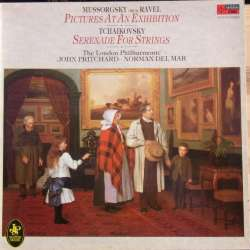 Mussorgsky: Pictures at an Exhibition. & Tchaikovsky: Serenade for Strings. John Pritchard, LPO. 1 LP. EMI. New Copy