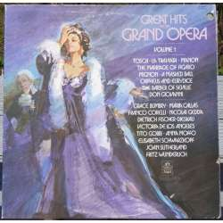 Great Hits from Grand Operas. Callas, Wunderlich, Gobbi, Corelli, de los Angeles, Dieskau, Sutherland.1 LP Vinyl. EMI Angel