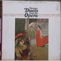 Opera duets: Callas, V. de los Angeles, Correli, Gedda. 1 LP. Angel
