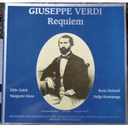 Verdi: Requiem. Karajan. Rosvaenge, Klose, Christoff. 2 LP. Sonata. New Copy