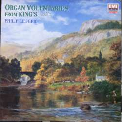 Organ Voluntaries from King's. Philip Ledger. 1 LP. EMI. Nyt eksemplar