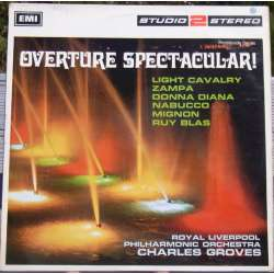 Overture spectacular. Charles Groves. 1 LP EMI. TWO 190