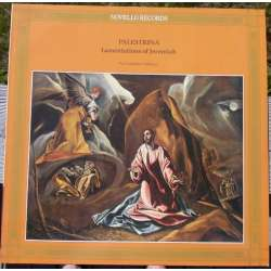 Palestrina: Lamentations of Jeremiah. Pro Cantione Antiqua, Bruno Turner. 1 LP. New copy