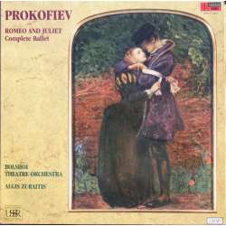 Prokofiev: Romeo and Juliet. Bolshoi. Algis Zuraitis. 2 LP. EMI. New Copy