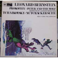Prokofiev: Peter and the Wolf & Tchaikovsky: Nutcracker suite. Leonard Bernstein. New York PO. 1 LP CBS 61057