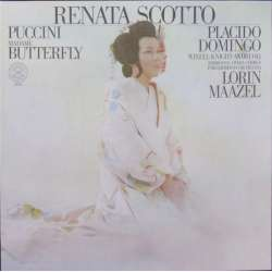 Puccini: Madama Butterfly. Domingo, Scotto. Maazel. 3 LP. CBS. 79313 Nyt eksemplar
