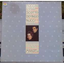 Puccini: Le Villi. Domingo, Scotto, Nucci, Gobbi. Maazel. 1 LP. CBS