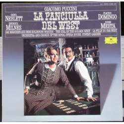 Puccini: La Fanciulla del West. Domingo, Milnes, Neblett. Mehta. 3 LP. DG. 4132851 A brand new copy