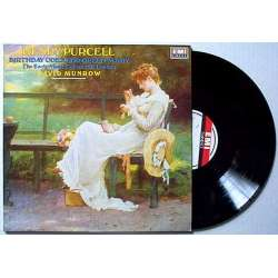 Purcell: Birthday ode to Queen Mary. David Munrow. 1 LP. EMI. New Copy
