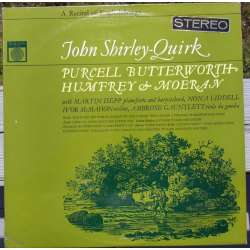 Purcell & Moeran & Humfrey. Songs. John Shirley-Quirk. 1 LP. Saga