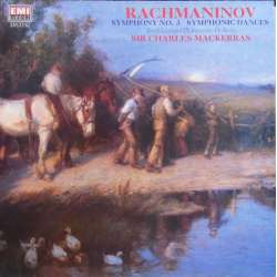 Rachmaninov: Symphony no. 3. + Symphonic Dances. Charles Mackerras. 1 LP. EMI. New Copy