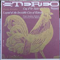 Rimsky-Korsakov: Suite til den gyldne fasan & Legend of the Invisble City Kitezh. Smetacek. 1 LP. Supraphon