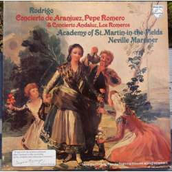 Rodrigo: Concerto de Aranjuez. Pepe Romero, Neville Marriner, Academy of St. Martin in the Fields. 1 LP. Philips 9500563