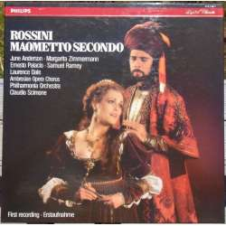 Rossini: Maometto Secondo. Anderson, Ramey. Claudio Scimone. 3 LP. Philips