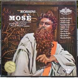 Rossini: Mose in Egypt. Taddei, Filippeschi. Serafin. 3 LP. Philips