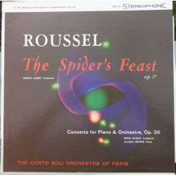 Roussel: The Spider's Feast & Piano concerto. Heffer, Baudo. 1 LP. OSL