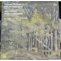 Rubbra: Violin Concerto. & Ireland: Piano Concerto. Pini, Geoffrey Tozer, Melbourne SO. David Measham. 1 LP Unicorn. New Copy