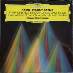 Saint Saëns: Symfoni nr. 3. Daniel Barenboim, Chicago SO. 1 LP. DG. 2530619