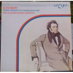 Schubert: String Quartet no. 15. Allegri Quartet. 1 LP Argo ZK 78