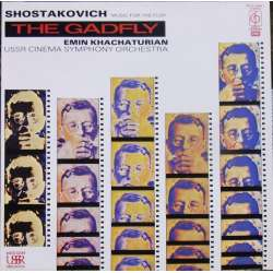 Shostakovich: The Gadfly. Music to Sidney Reilly. Khactaturian. 1 LP. EMI. New Copy