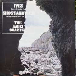 Shostakovich & Ives: String Quartets. Amici String Quartet. 1 LP. PRT. New Copy
