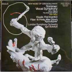 Sommer: Vocal Symphony. & Klusák: First Invention. Igor Buketoff, LSO. 1 LP. RCA