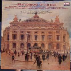Great sopranos of our time. Caballe, Sutherland, Freni, Callas, Scotto. 1 LP. EMI. Nyt eksemplar