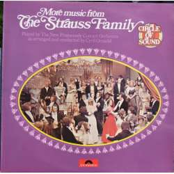 The Strauss Family: Valse. Cyril Ornadel. 1 LP. Polydor