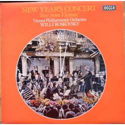 New Year's Concert 1975. J. Strauss: Valse. Willi Boskovsky. 1 LP. Decca. SXL 6740