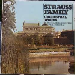 J. Strauss: Family Orchestral Works. John Barbirolli. 1 LP. Collector