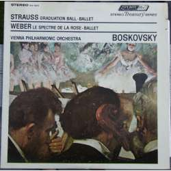 J. Strauss: Graduation Ball. Wiener PO. Willi Boskovsky. 1 LP. Decca