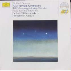 Richard Strauss: Also Sprach Zarathustra. Herbert von Karajan, Berliner Philharmoniker. 1 LP-Vinyl. DG. New Copy.
